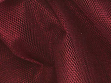 Nylon Mesh Fabric Metalic Red