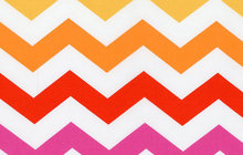 Ombre Chevron Cotton Sunrise