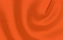 Orange Cotton Linen Fabric