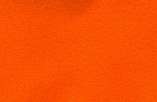 Orange Fleece Fabric