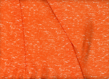 Orange Texture Rayon Challis