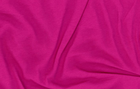Organic Cotton Knit Fabric Magenta