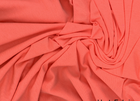Organic Cotton Knit Fabric Salmon