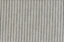 Organic Fabric Cotton and Hemp Indigo Stripe