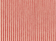 Organic Cotton and Hemp Red Stripe