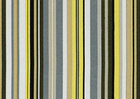 Outdoor/ Indoor Multi Band Stripe Fabric Lemon
