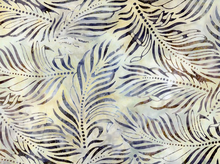 Palm Batik Cotton Stone