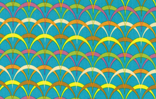 Parabulas Cotton Fabric Teal