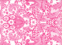 Paradise Oilcloth Lace Pink
