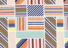 Patchwork Stripe Blocks Multi