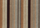 Patio Stripe Upholstery Fabric Black and Brown