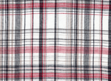 Plaid Linen White