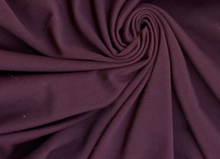 Plum Purple Ponte De Roma Interlock Knit