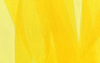 Poly Organza Fabric Yellow