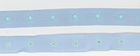 Powder Blue Snap Tape