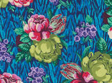 Amy Butler Hapi Tapestry Rose Voile Sapphire