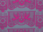 Anna Maria Horner Pretty Potent Banner Days Cotton Magenta