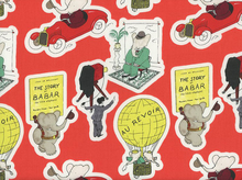 Babar's Trip Cotton Red