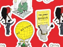 "Babar's Trip Cotton Red  <br><FONT COLOR=""fc7db0"">Employee Favorite!</FONT>"