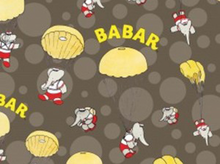 Babar Skydiving Cotton Grey