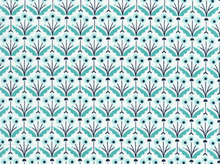 Pre-Order Cloud 9 Wildwood Pretty Posies Cotton Turquoise (Ships October)