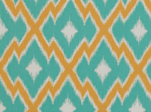 Joel Dewberry Botanique Aztec Cotton Teal