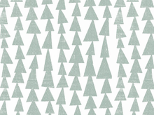 Lotta Jansdotter Mormor Tree Stamp Cotton Mint