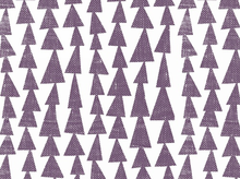 Lotta Jansdotter Mormor Tree Stamp Cotton Purple