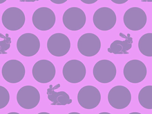 Tula Pink Fox Field Hoppy Dot Cotton Dusk