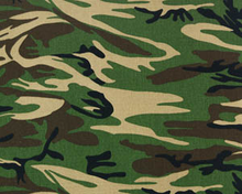Premier Prints Camo Cotton Canvas Green
