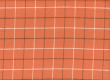 Primo Plaid Flannel Orange