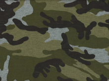 Printed Jersey Knit Camo
