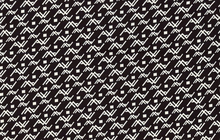 Printed Lining Fabric Black