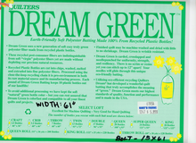 "Quilter's Dream Green 61"" Batting"