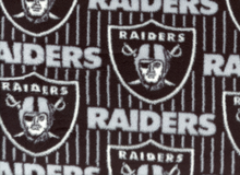 Raiders Fleece Black