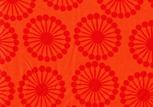 Raj Wheels Cotton Orange