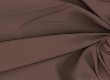 Rayon Batiste Fabric Chocolate Brown