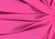 Rayon Batiste Fabric Hot Pink