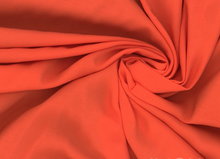Rayon Batiste Fabric Orange