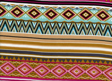 Rayon Challis Tribal Multi