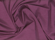 Rayon Jersey Knit Heather Plum