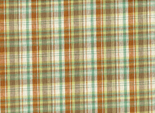 Rayon Linen Plaid Brown