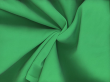 Rayon Peachskin Solid Emerald
