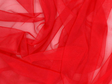 Red Costume Tricot Mesh
