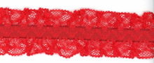 Red Hearts Garter Elastic