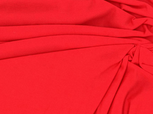 Red Modal Knit Fabric