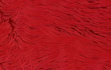 Red Mongolian Faux Shag Fur