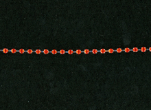 Rhinestone Trim Red