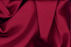 Rich Red Tahari Satin Fabric