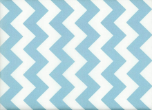 Riley Blake Chevron Sparkle Aqua